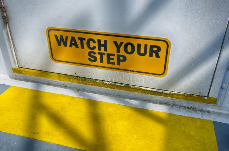 您步骤的手表 库存照片