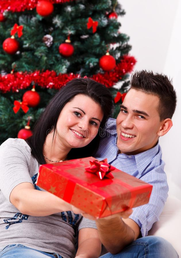 您的一件礼物 免版税库存照片
