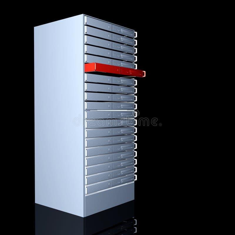 您的专用服务器 向量例证