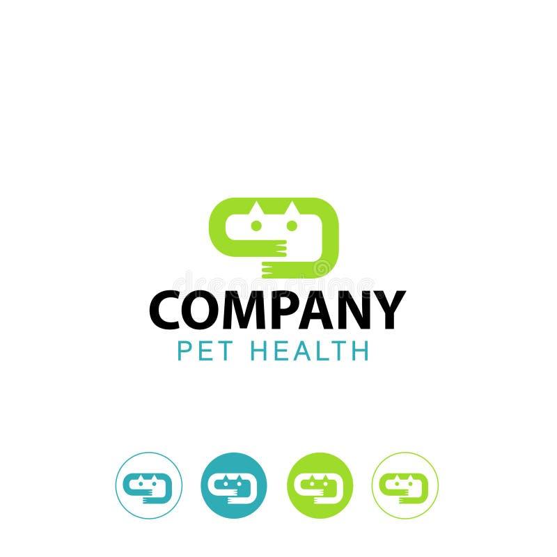 您的宠物医疗保健诊所的象 免版税库存图片