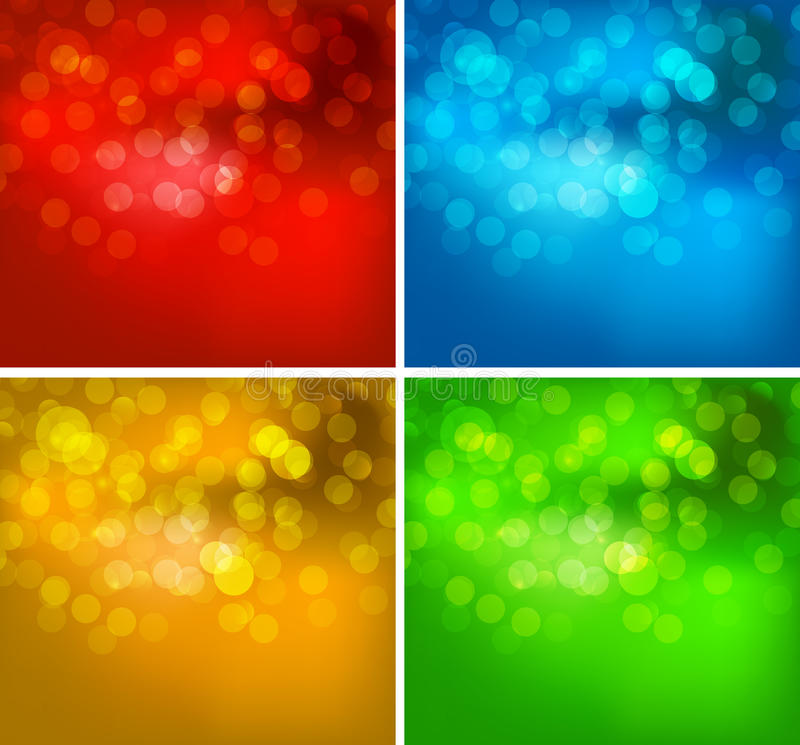 您的抽象彩虹颜色背景 皇族释放例证