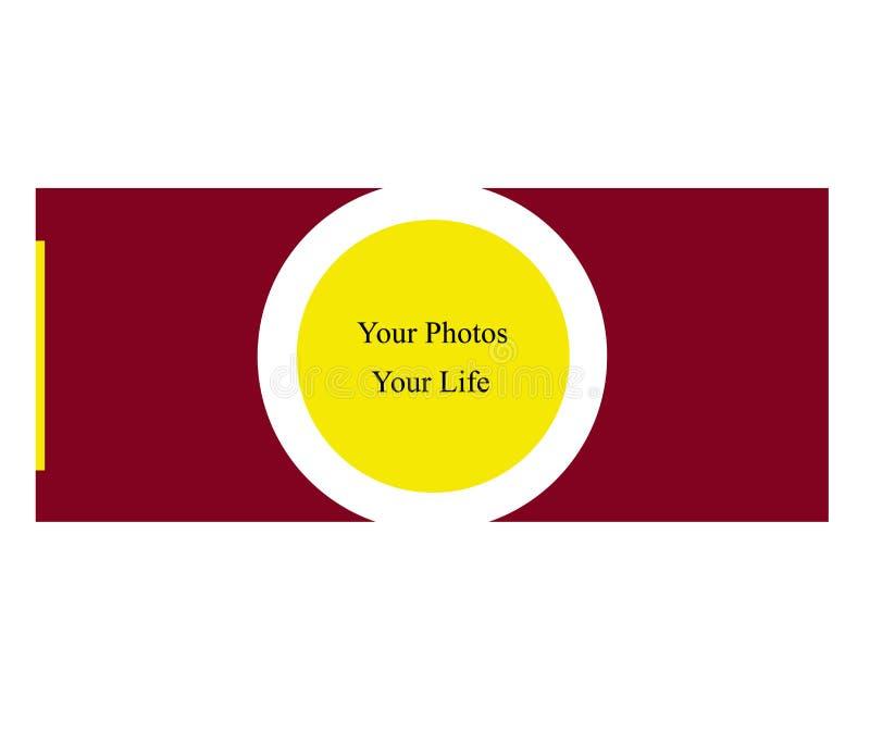 您的照片 库存例证