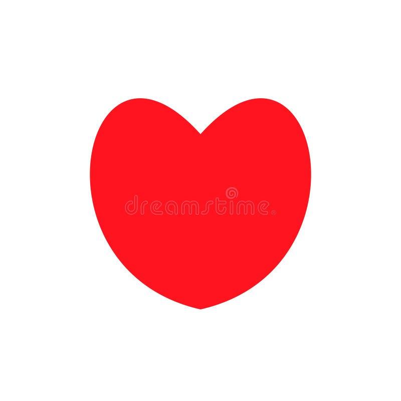 您的网站设计的爱标志 皇族释放例证