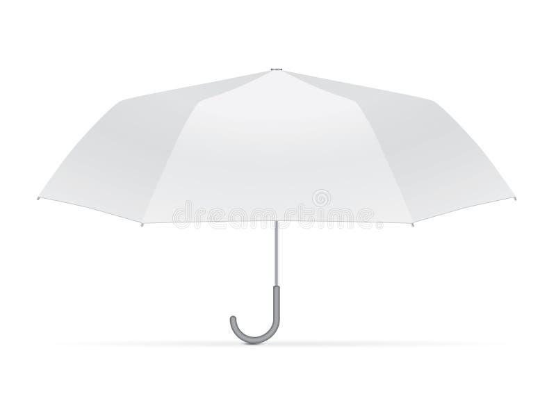 您的设计和商标的伞 库存例证