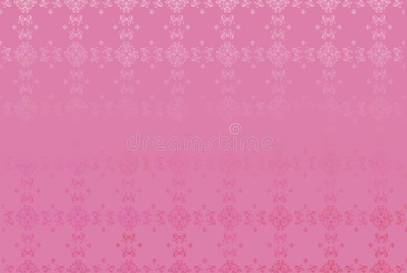您的设计的桃红色精妙的传染媒介背景 皇族释放例证