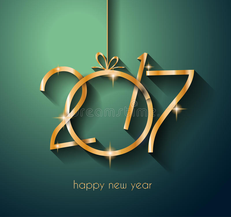 Download 2017年您的飞行物和贺卡的新年快乐背景 库存例证. 插画 包括有 背包, 要素, 丝带, 盖子, grunge - 72365296