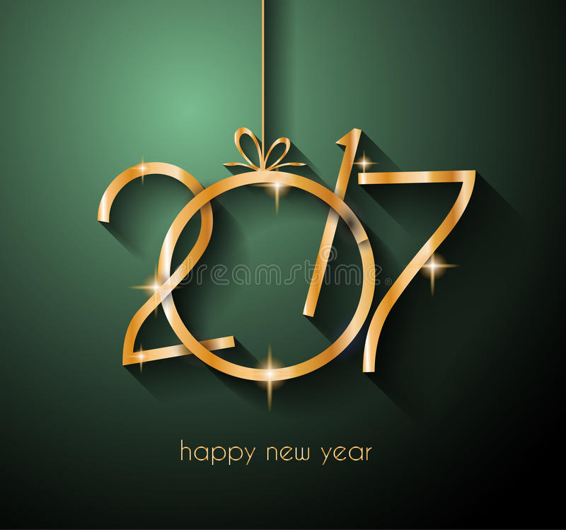 Download 2017年您的飞行物和贺卡的新年快乐背景 库存例证. 插画 包括有 欢乐, 邀请, 快活, 几何, 正餐 - 72365821