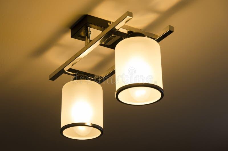 您空的闪亮指示照明设备物体空间的文本 免版税库存图片