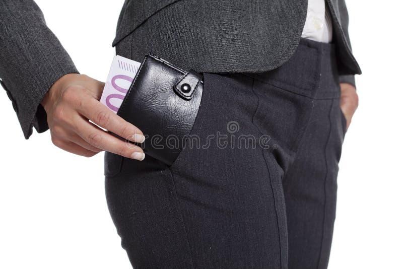 您货币的矿穴 库存图片
