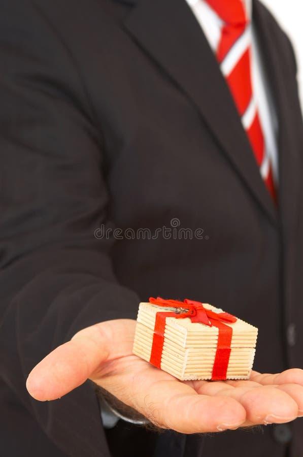 您这里的礼品 免版税库存照片