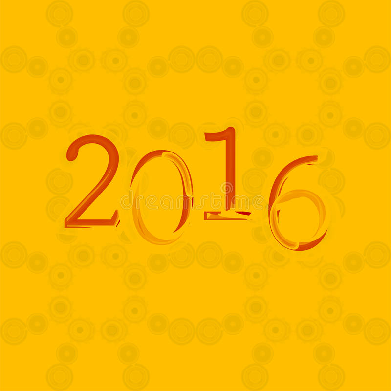 您飞行物、邀请、党海报、贺卡,小册子盖子或者普通的2016个新年和愉快的圣诞节背景 库存例证