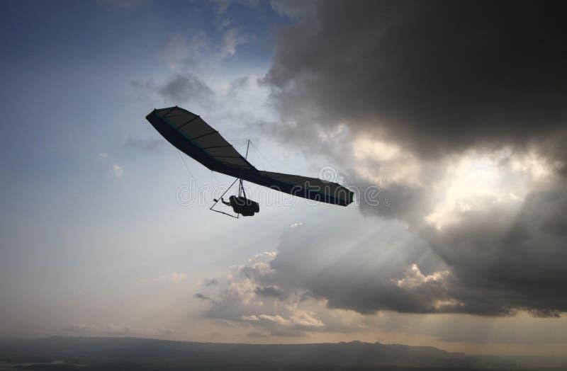 悬挂式滑翔 图库摄影