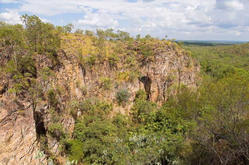 悬崖Litchfield公园 库存图片