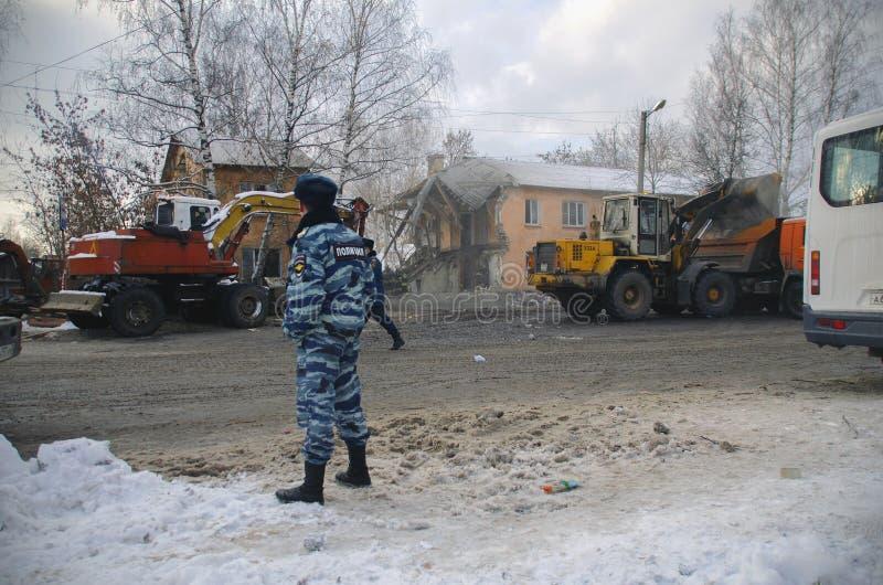 悲剧在伊凡诺沃 免版税图库摄影