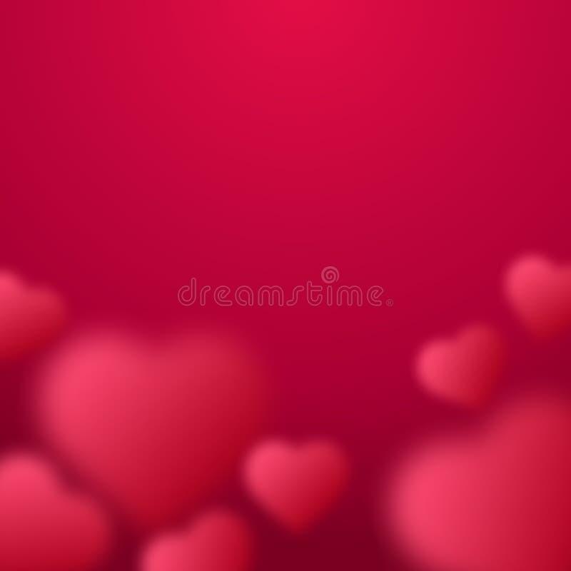 情人节传染媒介例证 红色弄脏了被隔绝的心脏 皇族释放例证