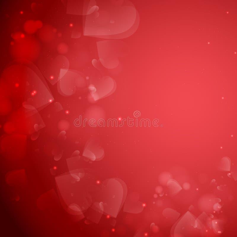 情人节或婚礼背景。 向量例证