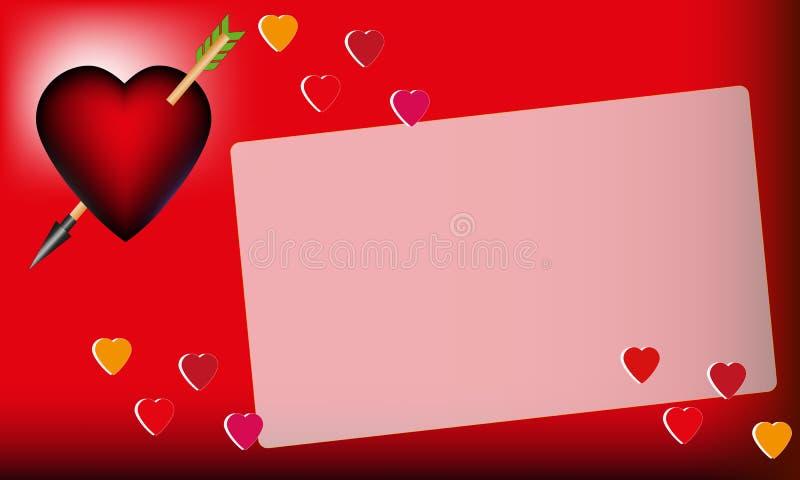 情人节,卡片 库存照片