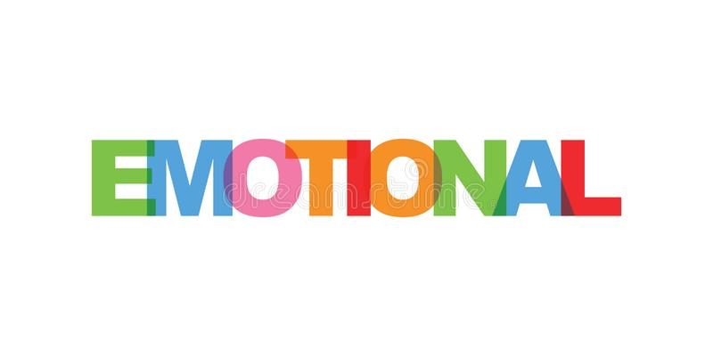 情感名片文本 现代在上写字的海报 颜色词艺术口号象 词组导航印刷品设计元素 皇族释放例证