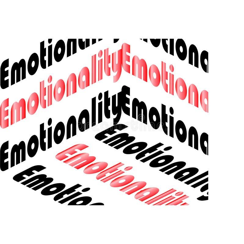 情感性题字 皇族释放例证