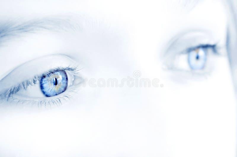 情感眼睛 免版税库存照片