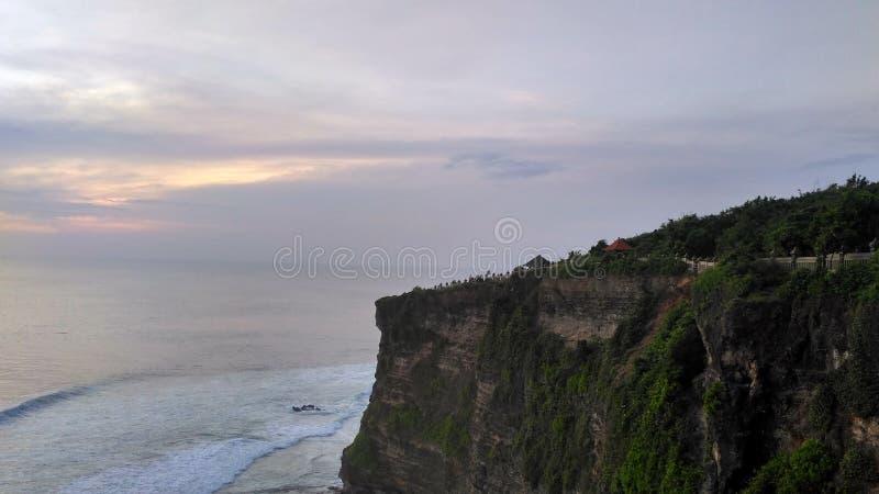 惊人的地方在巴厘岛 图库摄影
