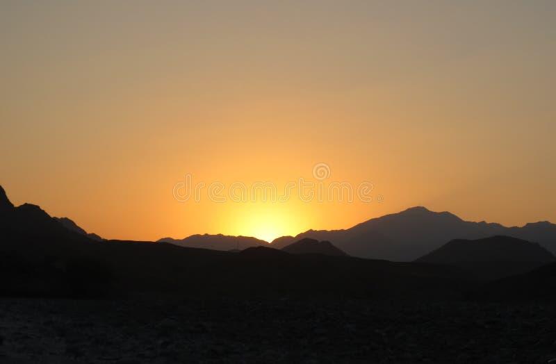 惊人的太阳 库存照片