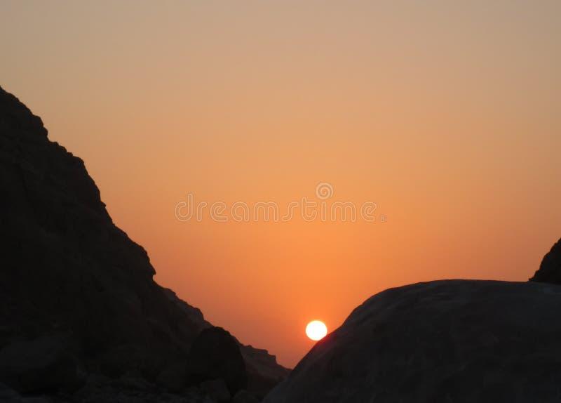 惊人的太阳 图库摄影