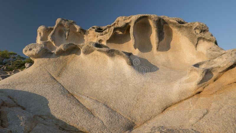 惊人的岩石 图库摄影