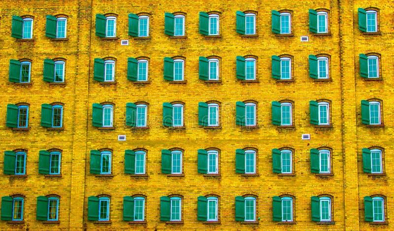 惊人的抽象窗口摄影 免版税图库摄影