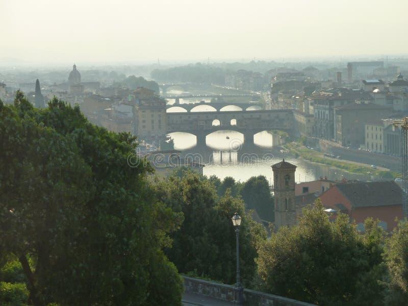 惊人的早晨意大利 免版税图库摄影