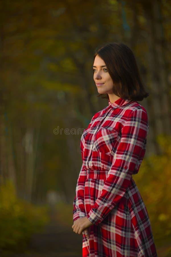 惊人的画象美丽的女孩 库存图片