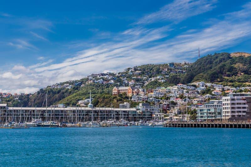 惠灵顿,新西兰, 2016年2月13日 免版税图库摄影