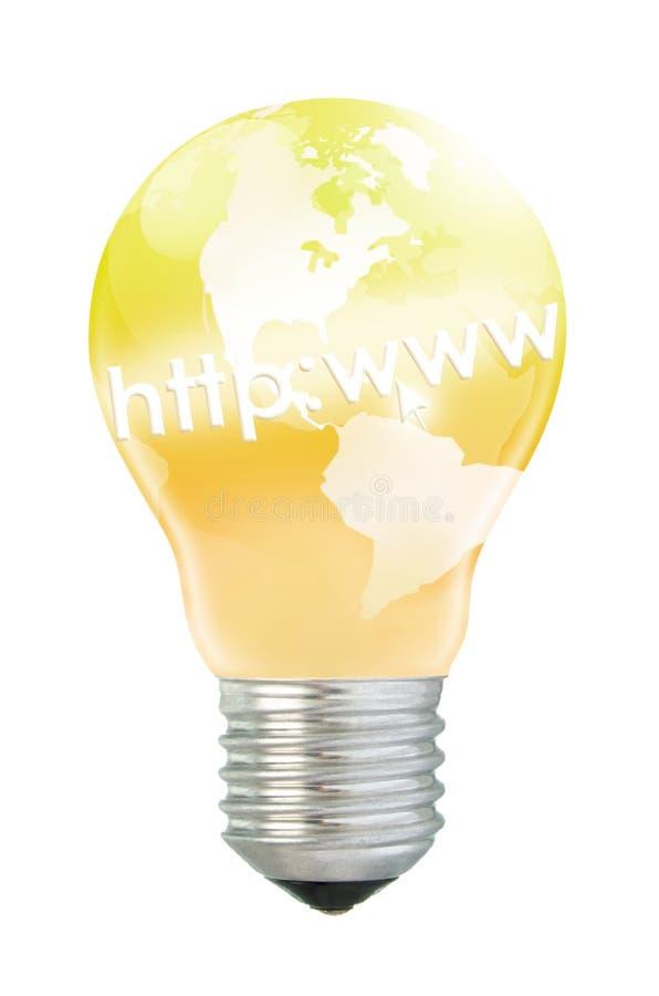 想法互联网 皇族释放例证