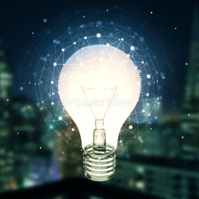 想法和创新概念 库存例证
