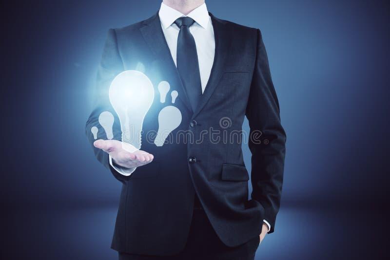 想法和启示概念 免版税库存照片