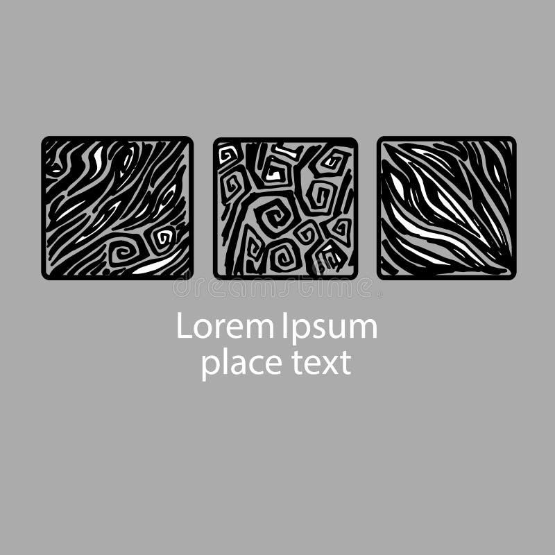 想法成象带状线思想体系亮光绘了手工制造图画 皇族释放例证