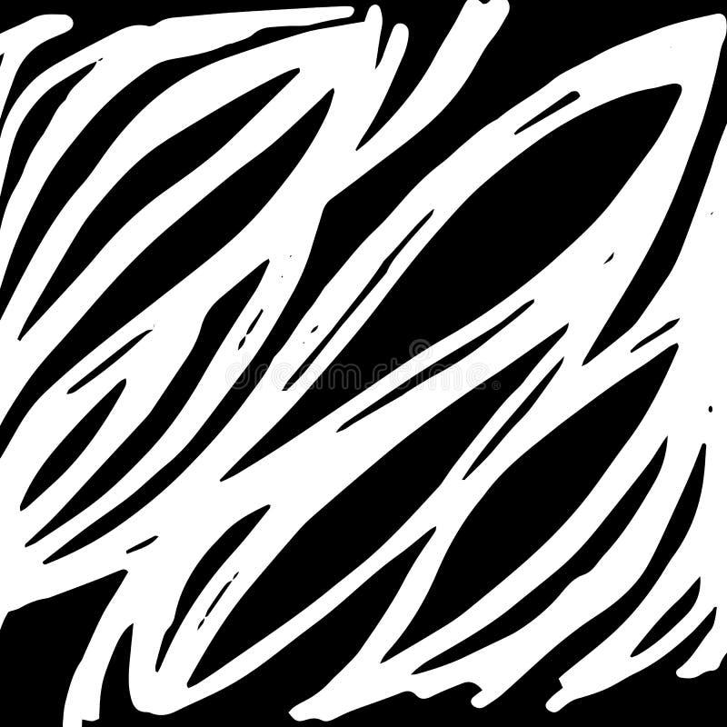 想法成象带状线思想体系亮光绘了手工制造图画 库存例证