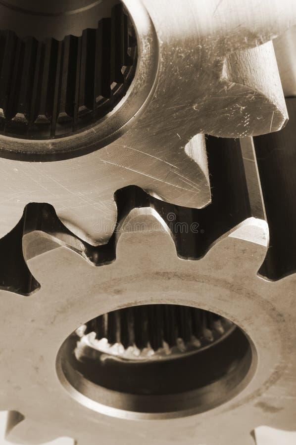 想法机械钢 库存图片
