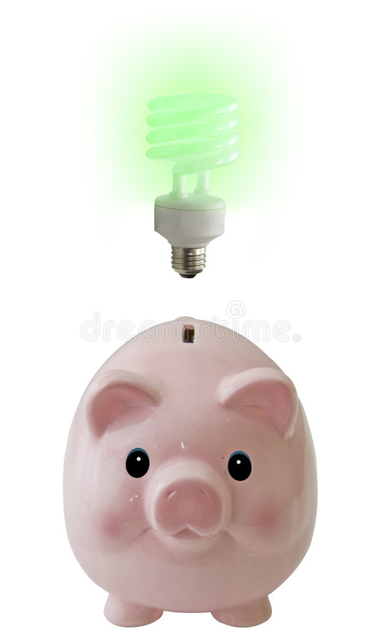 想法猪 免版税库存图片