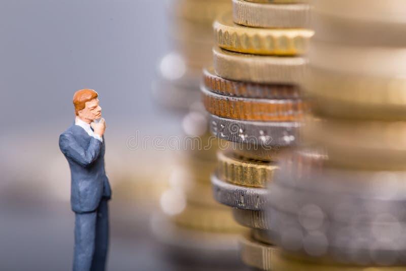 想法的货币业务概念 图库摄影