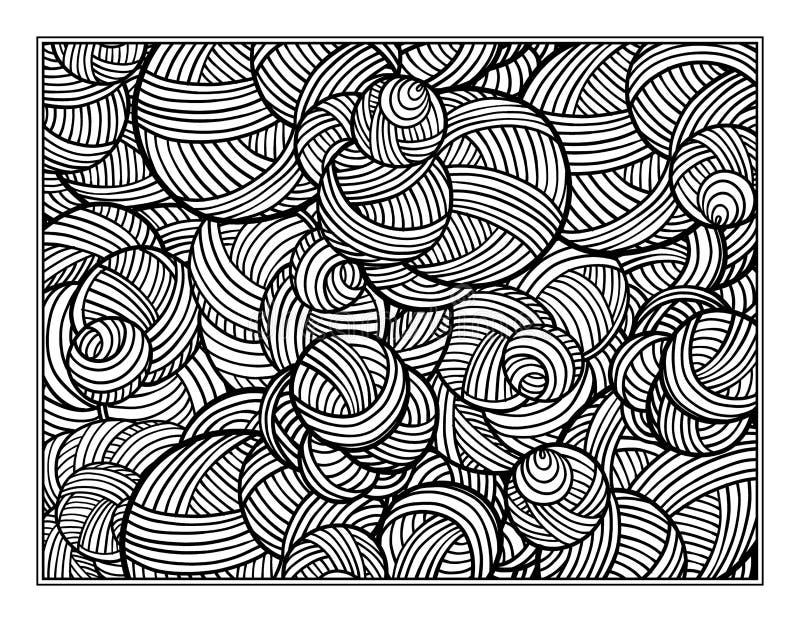 幻想装饰装饰无缝的样式 向量例证