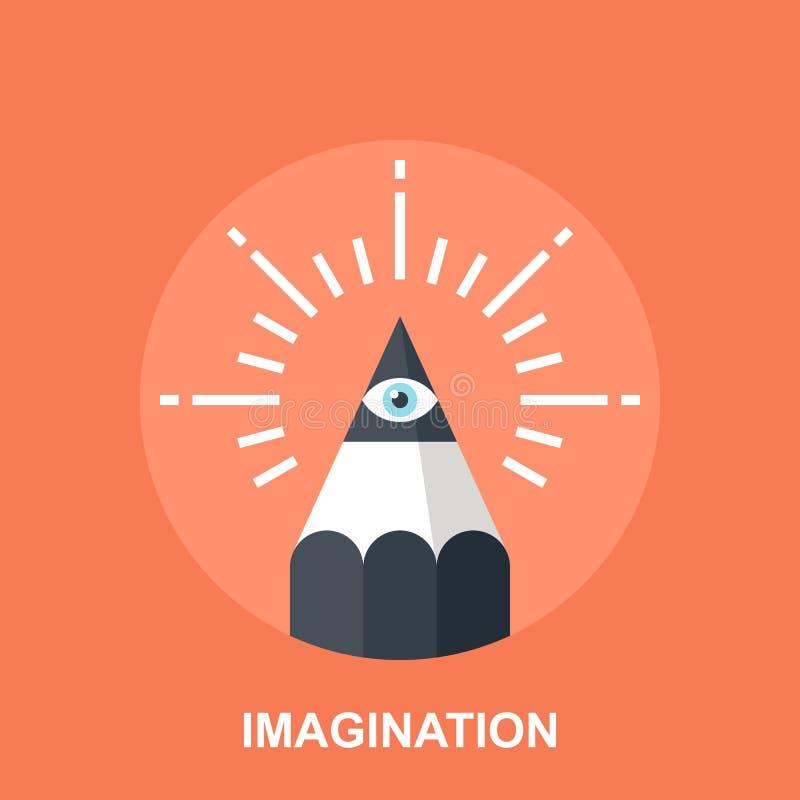 想象力 向量例证