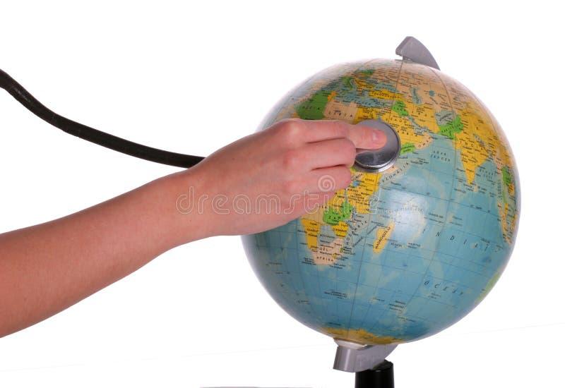 愈合世界 免版税图库摄影