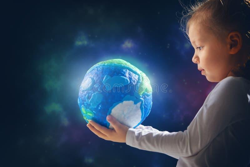 愉快的世界地球日 免版税图库摄影