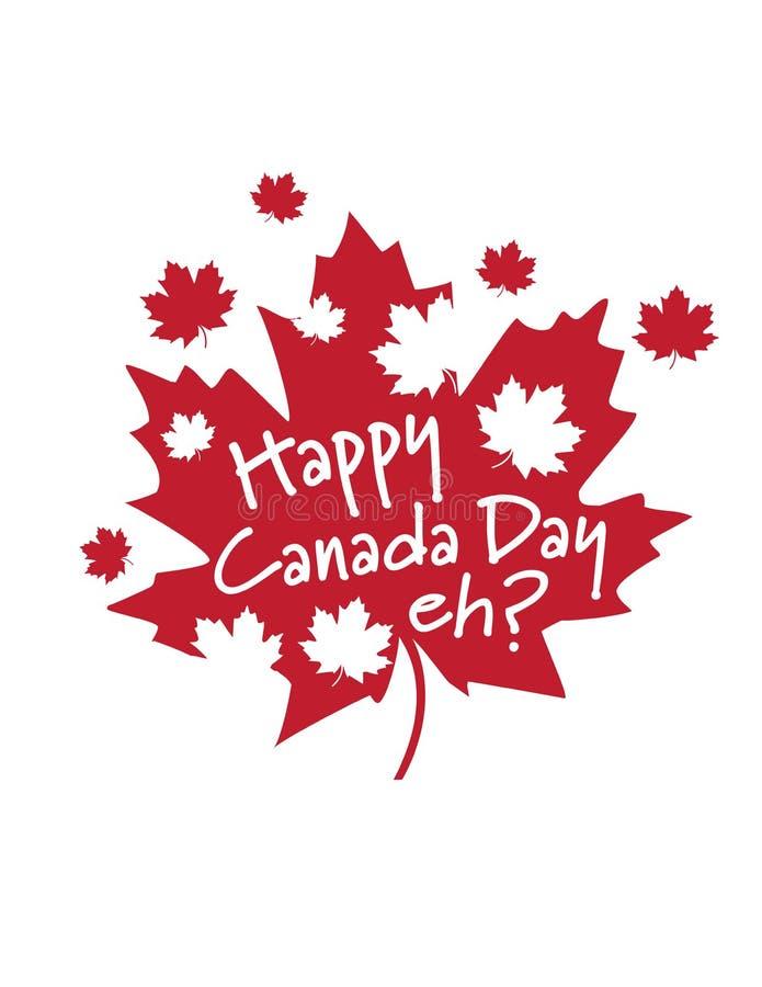 愉快的加拿大日,嗯? 免版税库存照片