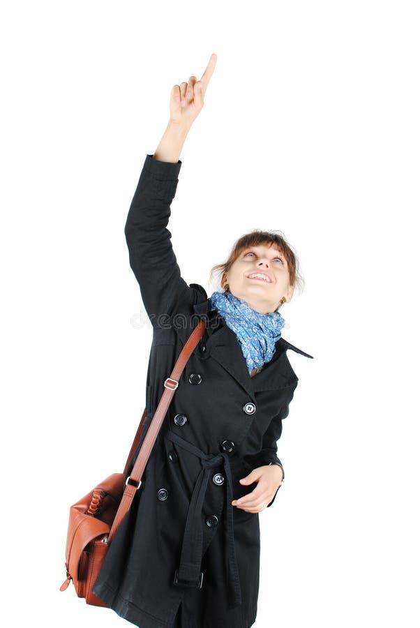 愉快的妇女年轻人 免版税库存图片