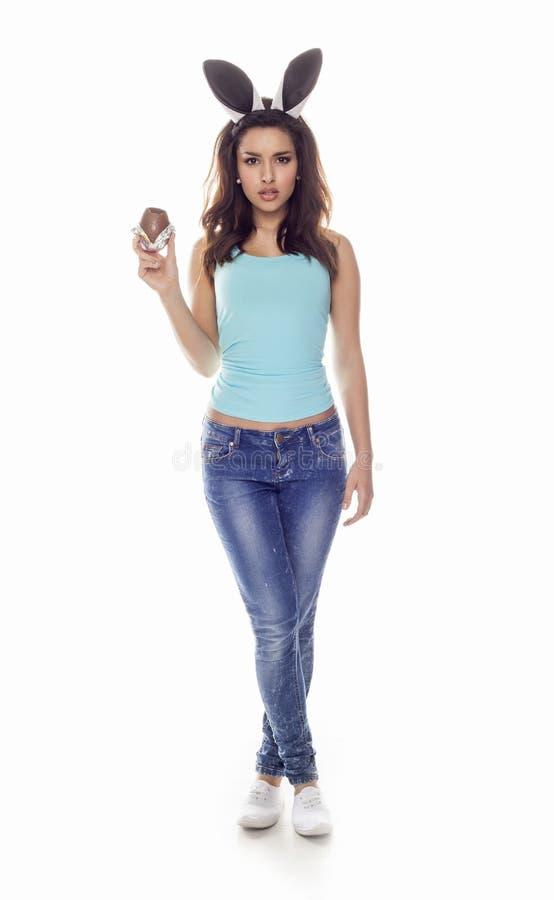 愉快的妇女年轻人 库存图片