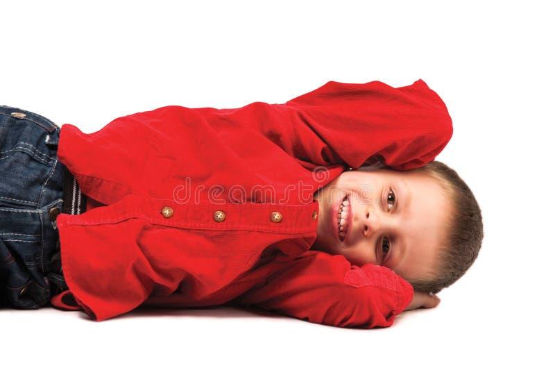 愉快的孩子 免版税库存照片