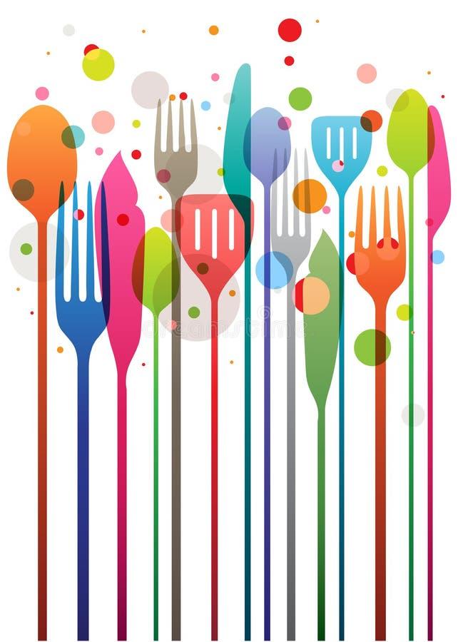 愉快的宴餐 免版税图库摄影