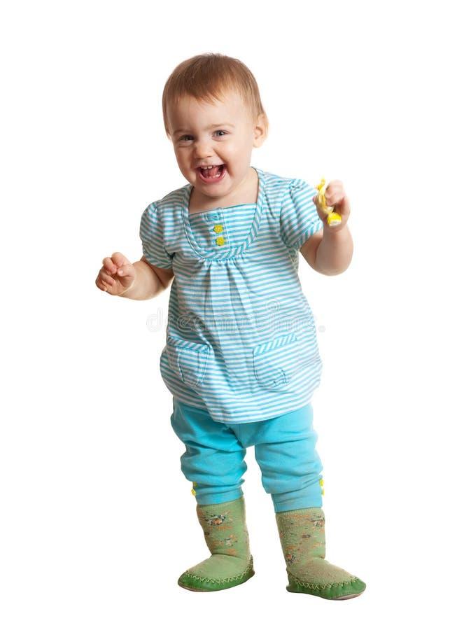 愉快的小孩 免版税图库摄影